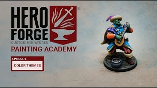 Hero Forge Painting Academy: Ep6 Color Themes