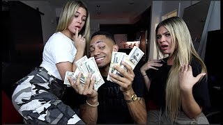 Buying Twins V-Cards For $500,000 Prank!