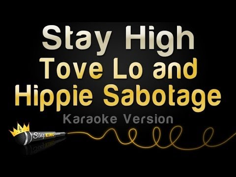 Tove Lo and Hippie Sabotage - Stay High (Karaoke Version)