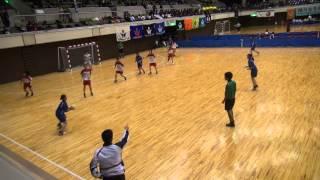 平成26年11月23日(日)福岡大学vs関西学院大学、女子第50回・全日本学生ハンドボール選手権大会