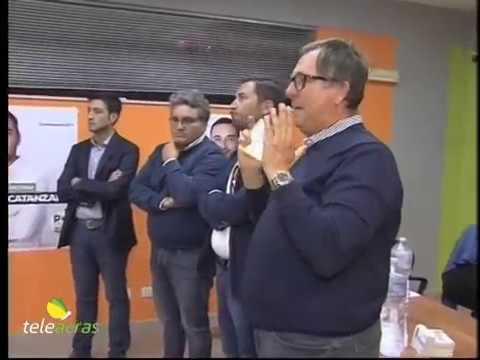 Teleacras - Regionali, presentazione Michele Catanzaro