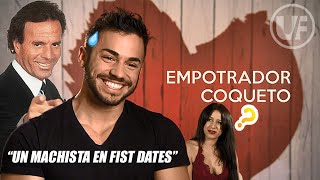 CORBACHO 👉 un YOUTUBER fitness MACHISTA en FIRST DATES 🚒🔥 *ACABA MAL*😈