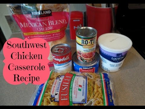 Easy Southwest Chicken Casserole Recipe