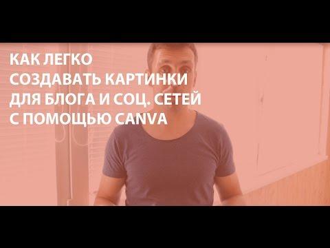 Как создавать картинки для блога с помощью Canva