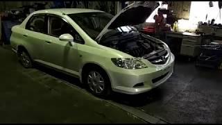 Honda Fit Aria.  В разбор