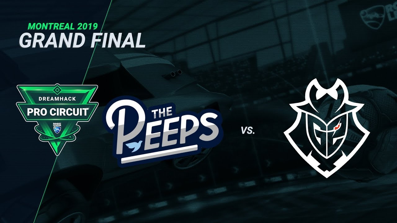 The Peeps vs G2 - Grand Final - Day 3 - DreamHack Pro Circuit Montreal 2019