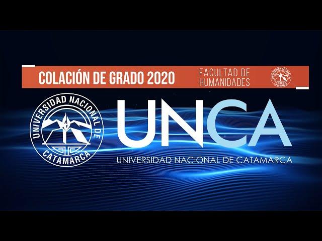 COLACION DE GRADO VIRTUAL HUMANIDADES 2020