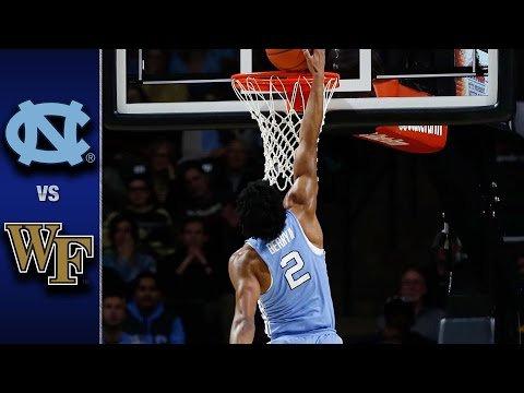North Carolina vs. Wake Forest Men's Basketball Highlights (2016-17)