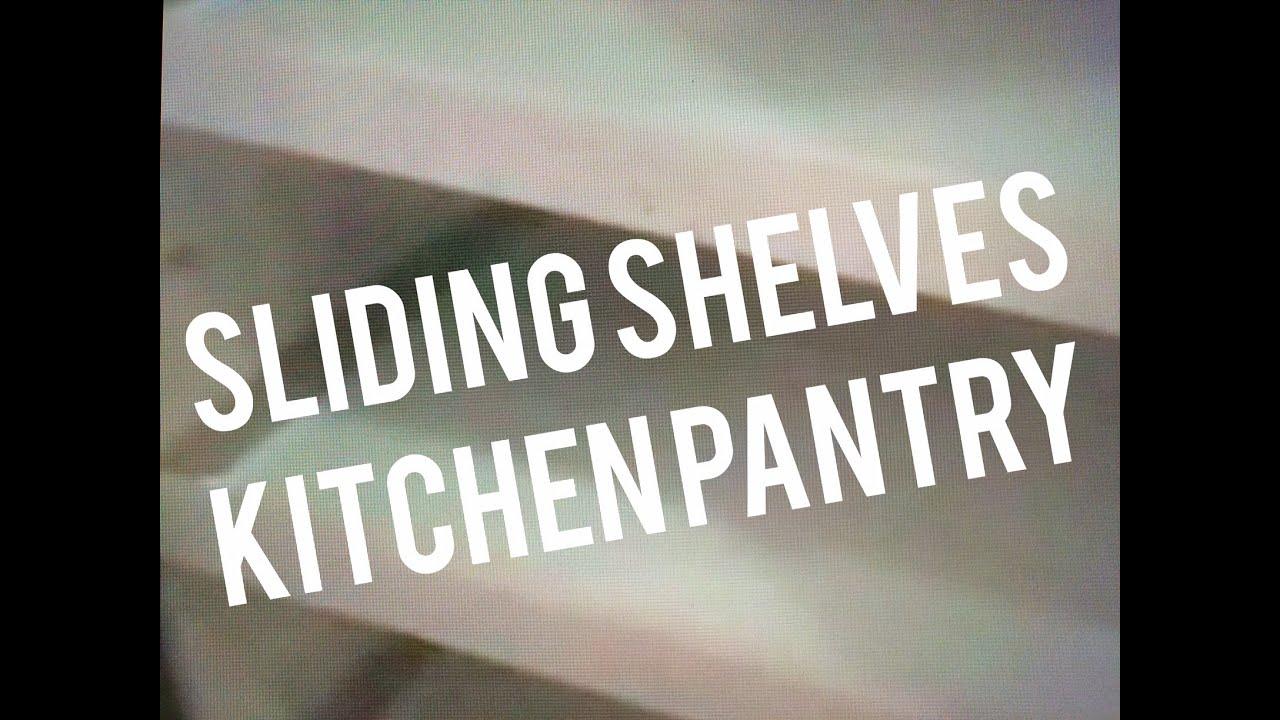 sliding shelves for kitchen pantry cabinet closet 20