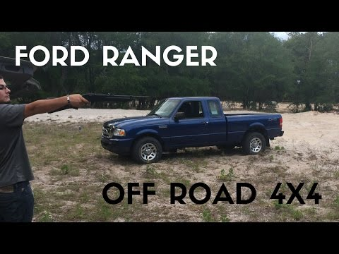 2011 Ford Ranger XLT 4.0 V6 4X4 OFF ROAD REVIEW