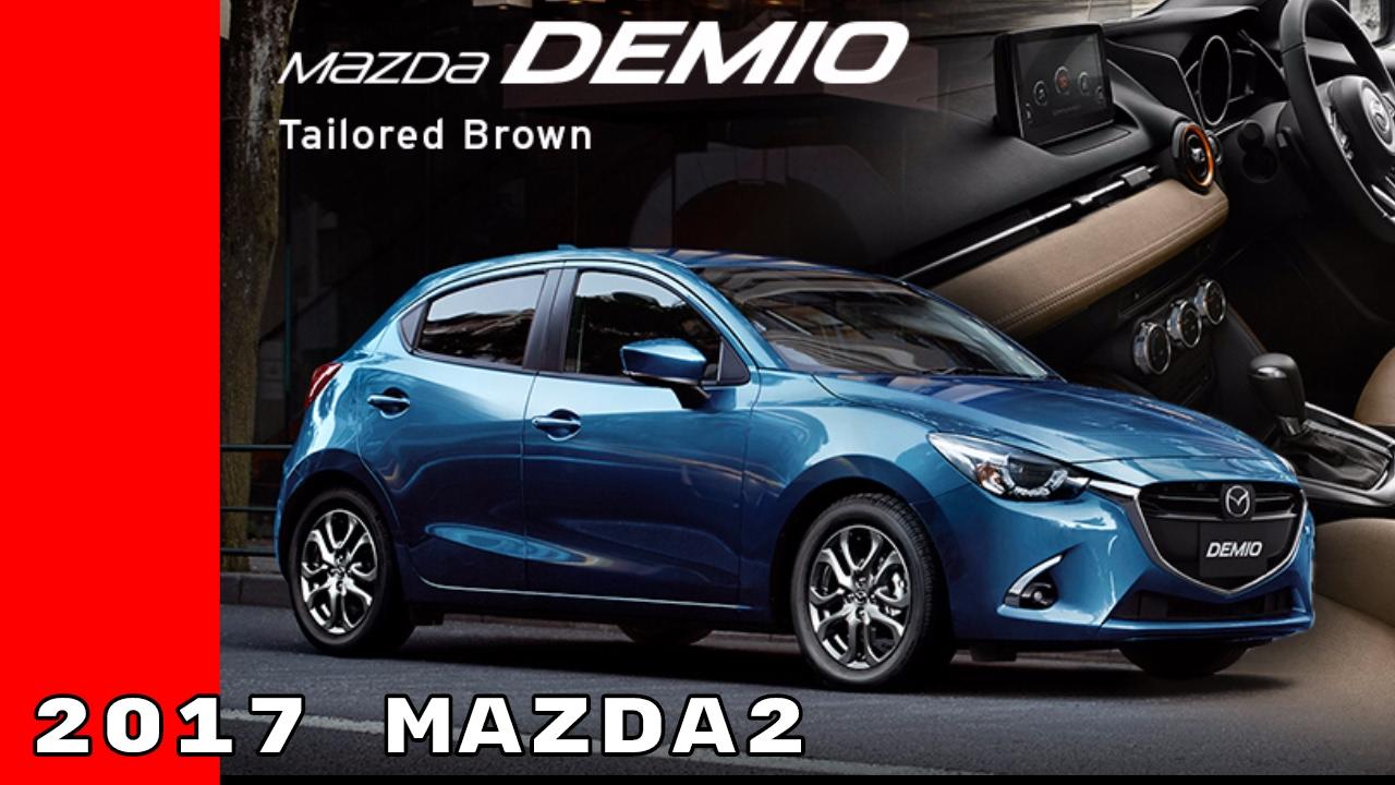 2017 Mazda2 Facelift - YouTube