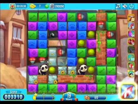 Pet Rescue Saga Level 2091 - NO BOOSTERS | SKILLGAMING ✔️