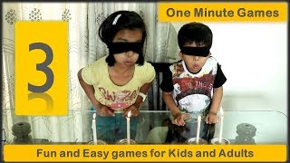 3 One minute games   Minute to win it Games for kids and adults (2019)