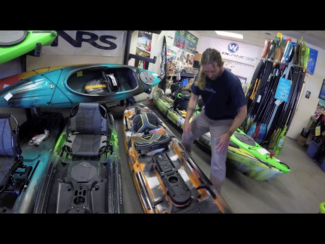 Ocean Kayak Trident 13, Out of the Box