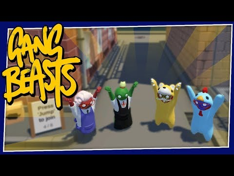 Gang Beasts - #188 - EVERYTHING IS NEW!!