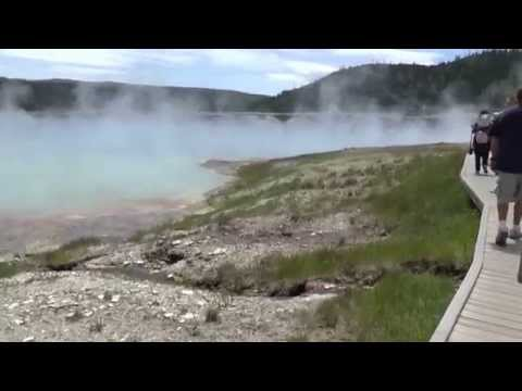 Yellowstone National Park   5 July 2014   Tour   Midway Geyser Basin #1