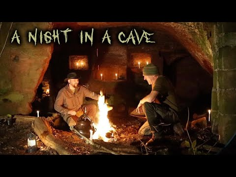 Download Camping in a Cave with campfire cooking
