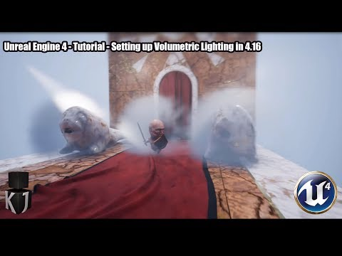 Unreal Engine 4 - Tutorial - Setting up Volumetric Lighting