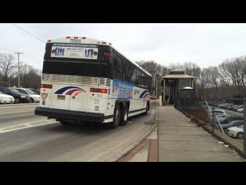 NEW JERSEY TRANSIT NEOPLAN AN459 BUS 9538 ON THE 39 TO NEWARK PENN