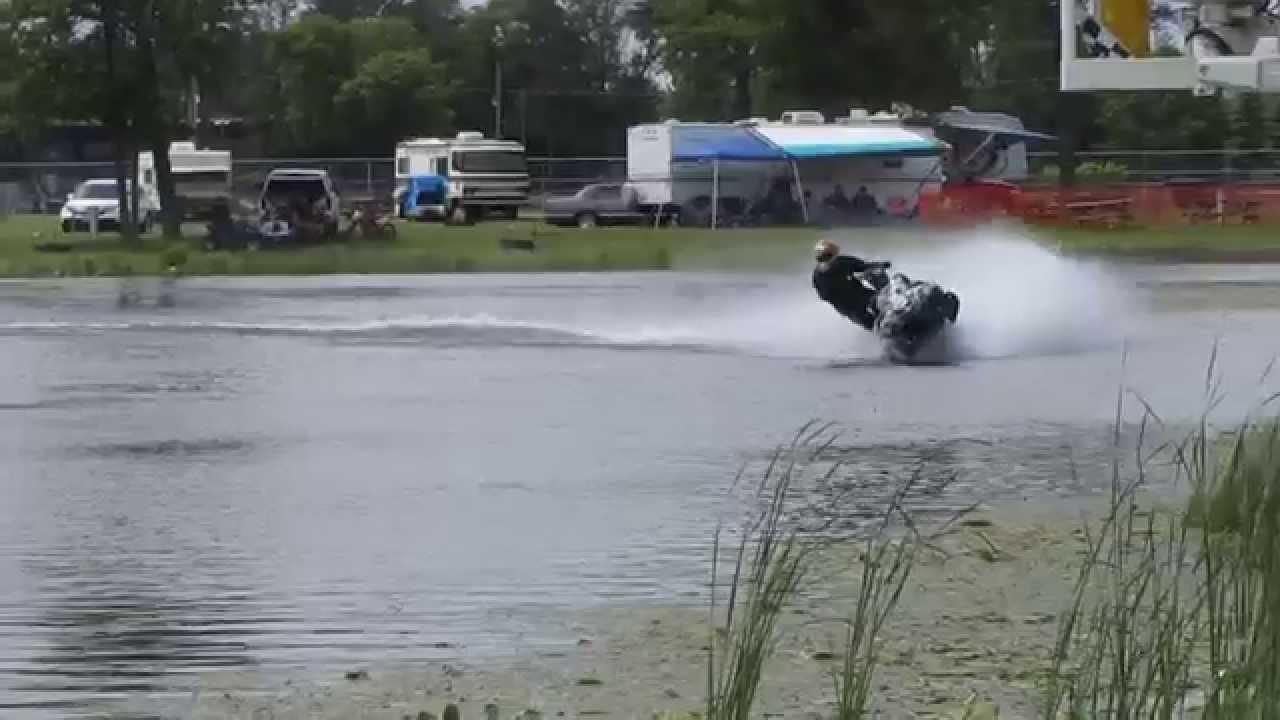 Snowmobile Watercross - Brainerd International Raceway