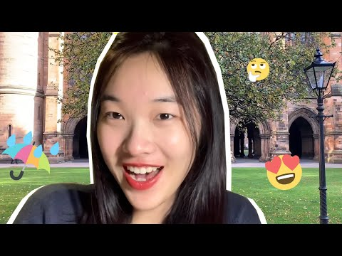 First impressions of Glasgow 😊🌂// University of Glasgow vlog