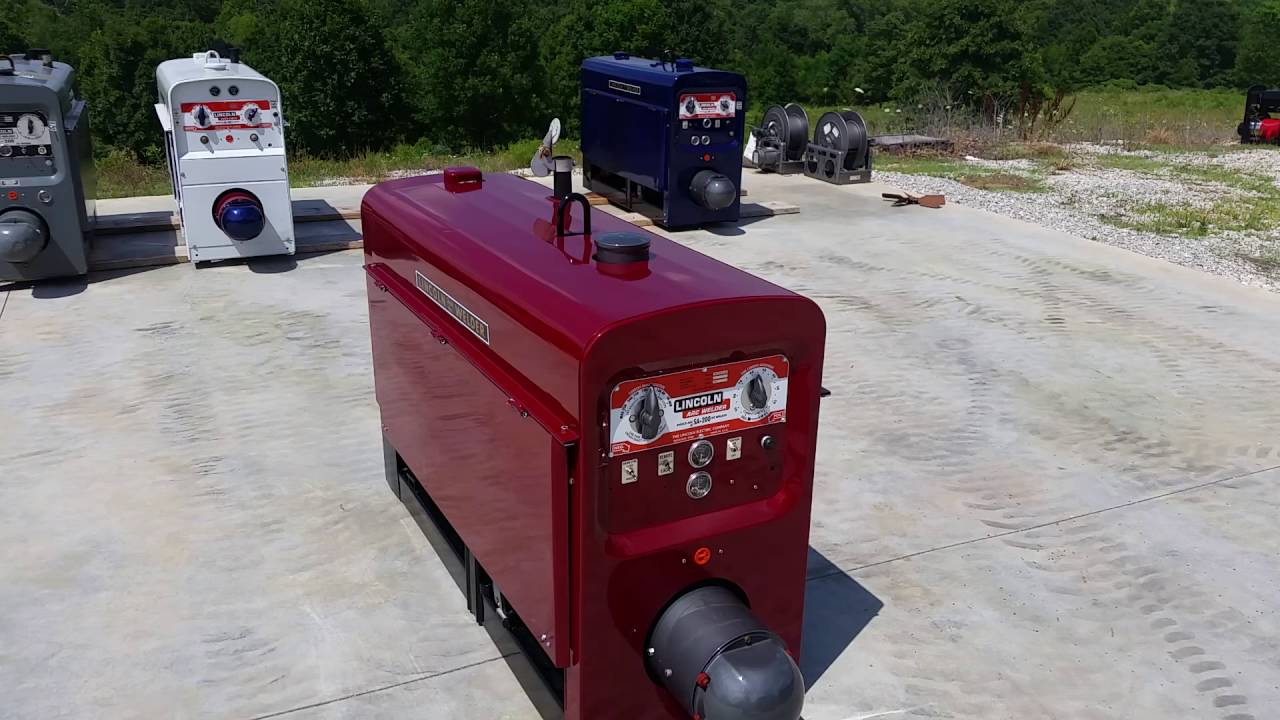 Sa 200 Lincoln Welder >> This is a Lincoln Welder sa200 1969 K6090 Pipeliner all copper windings SOLD - YouTube