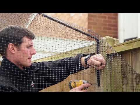 Hoe je een tuin kat-proof maakt met de Protect-a-Pet schutting beugels