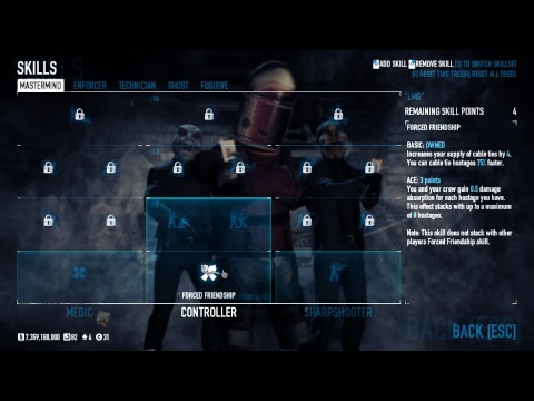 payday 2 damage absorption