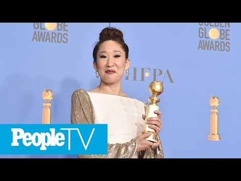 Killing Eve's Sandra Oh Makes History As First Asian To Win Multiple Golden Globes | PeopleTV