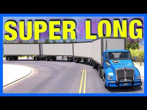 LONGEST TRUCK YET!! (American Truck Simulator)  