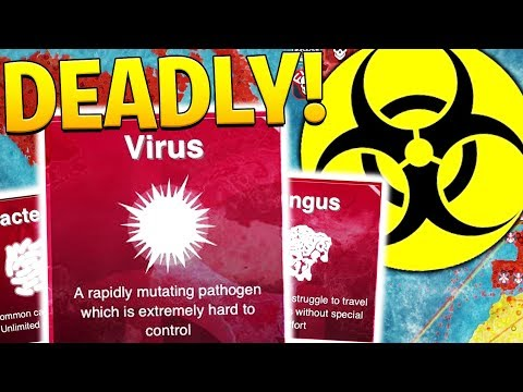 THE MOST DEADLY DISEASE - PLAGUE INC | JeromeASF