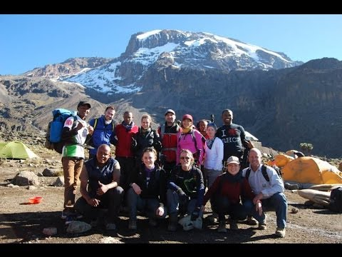 Conquering Kilimanjaro - On the top of Africa