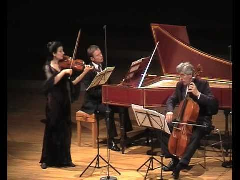 Handel Sonata A-Major, Ensemble Vintage: Ariadne Daskalakis, Gerald Hambitzer, Rainer Zipperling