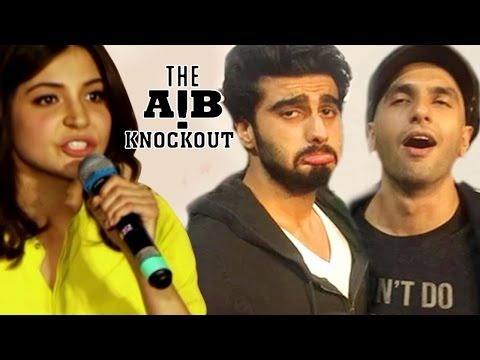 Anushka Sharma REACTS on AIB Knockout CONTROVERSY