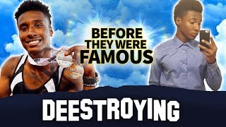 Deestroying | Before They Were Famous | Fastest Entertainer on the Internet