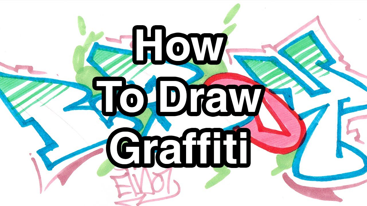 Step By Step How To Draw Graffiti Letters - Write B-Boy In ...How To Draw Graffiti Art Step By Step