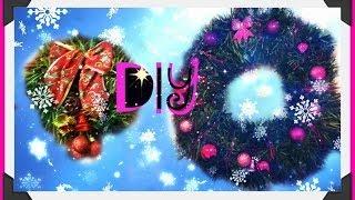 DIY Рождественский Венок ♥ Christmas wreath
