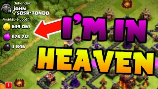 Clash Of Clans | INSANE LOOT RAIDS | (NEW) TOWN HALL 10 FARMING |