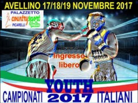 Download Campionati Italiani Youth 2017 Avellino 17-19 Nov. - FINALI