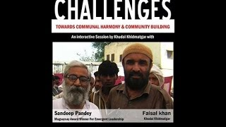 Sandeep Pandey in Aligarh Muslim University