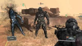 Metal gear solid v how to kill the skulls in extreme matallic archaea and get S Rank walkthrough