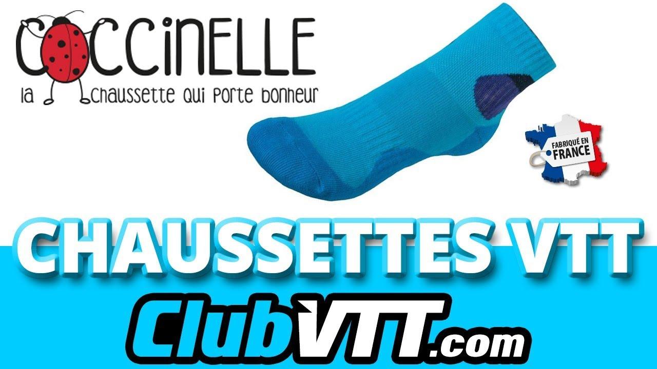 plus gros rabais mode magasiner pour authentique Chaussettes vtt françaises - Les chaussettes COCCINELLE - 490