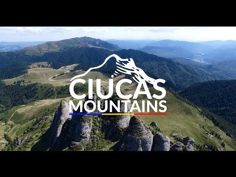 Ciucas Mountains - Romania - Aerial View 4K
