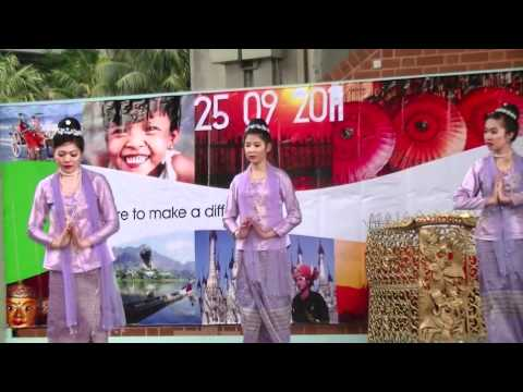 BCBG, Burmese Food & Cultural Festival 2011-Mon Dance
