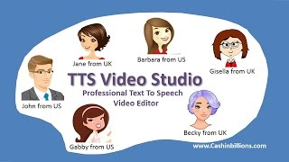 TTS Video Studio | Text To Speech Solution | Voice Over For Video Marketing