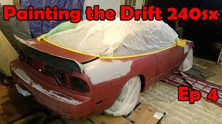 Painting the 240sx a New Color! | Budget Drift 240sx Ep 4
