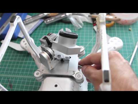 Phantom 3 Gimbal Repair - EASY FIX