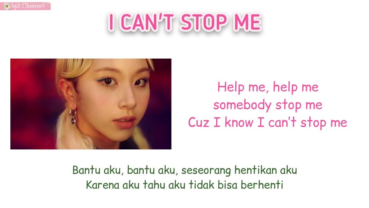 TWICE   I CAN'T STOP ME Super Easy Romanized Lyrics   Sub Indo ...