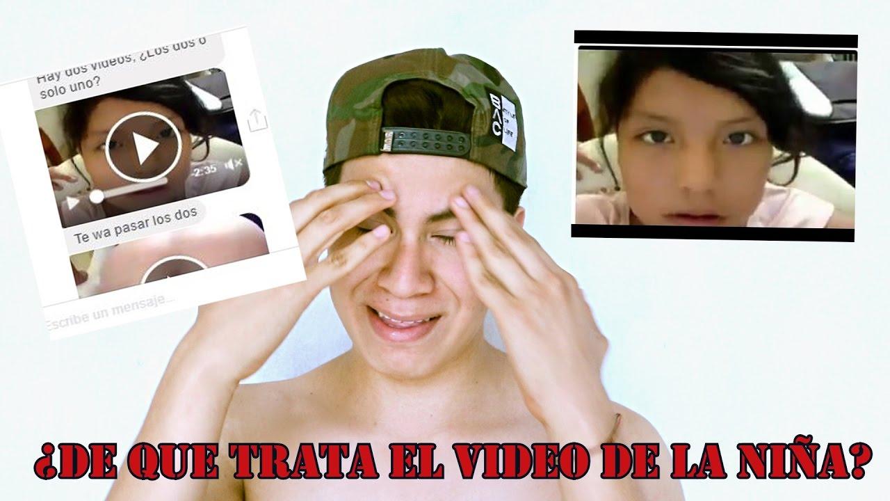 EL VIDEO DE LA NIÑA DE FACEBOOK (video perturbante) 18 | Freddy Pk