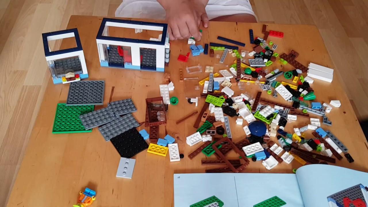 LEGO 31068 Creator: Modernes Zuhause - Speed Build Video - YouTube